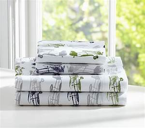 charlie sheeting pottery barn kids With charlie bed pottery barn