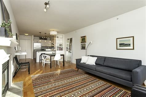 small penthouse apartment  vancouver   space saving