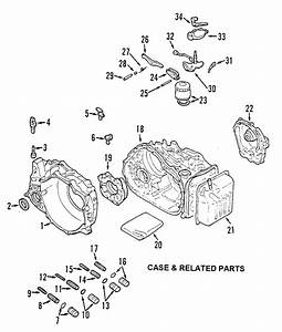 Where Is The Transmission Filter 2002 Mitsubishi Gallant Auto