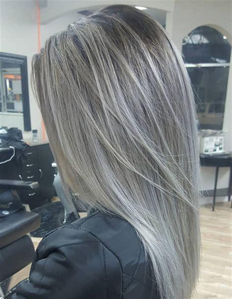 capelli grey ombre il nuovo colore da provare beauty