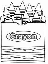 Crayon Coloring Crayons Crayola Gaddynippercrayons Printable Knows Often Everyone Kindergarten Besides Preschool Sheets Colors sketch template
