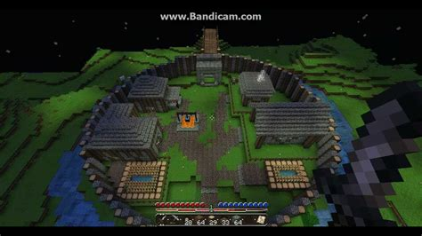 motte  bailey castle minecraft youtube