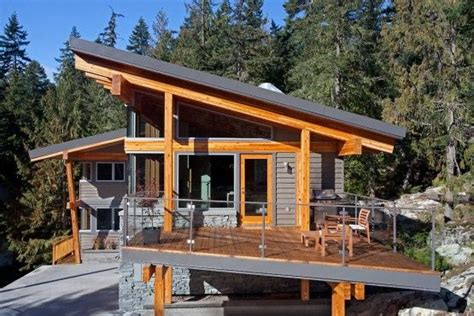 harmonious shed house designs whistler slant roof chalet pacific northwest modern