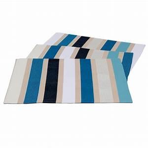 Set De Table Bleu : set de table artiga garlin bleu galerie de garazi ~ Teatrodelosmanantiales.com Idées de Décoration