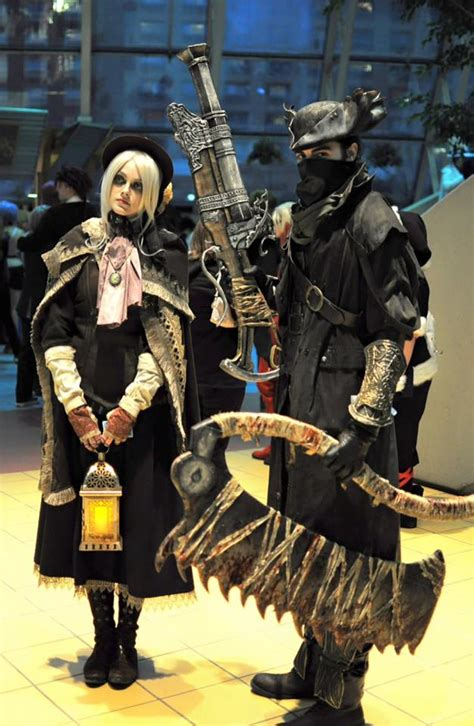 cosplay pic   day bloodborne hunter  doll