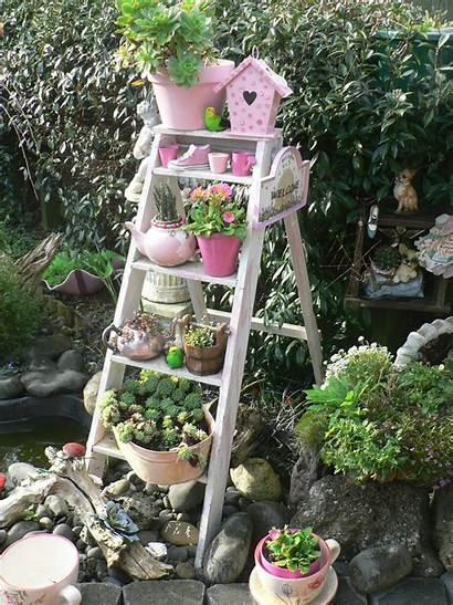 Ladder Wooden Garden Decorating Impressive Streamers Karma