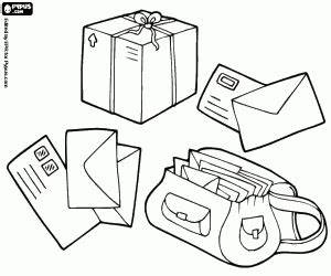 Post coloring pages printable games