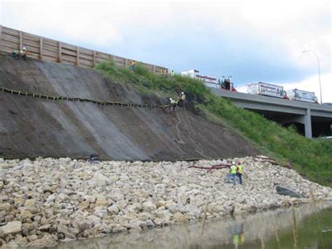 stopping erosion on a slope erosion stop