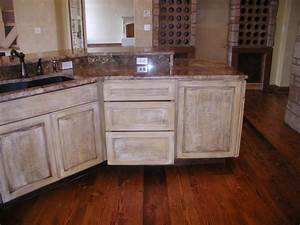 how to paint oak cabinets distressed white www With kitchen colors with white cabinets with handmade stickers