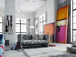 Poster Xxl Designer : rothko replicas in your living room interiors interior design art loft decor ~ Orissabook.com Haus und Dekorationen