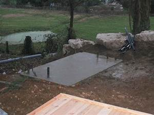 ordinaire dalle beton autour piscine 7 la construction With dalle beton autour piscine
