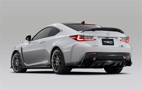 Trd Introduces Circuit Club Sports Parts For Lexus Rc F