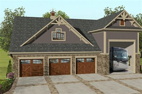 Stunning Images Story Garage Plans With Loft by Craftsman Style House Plan 2 Beds 1 Baths 1207 Sq Ft