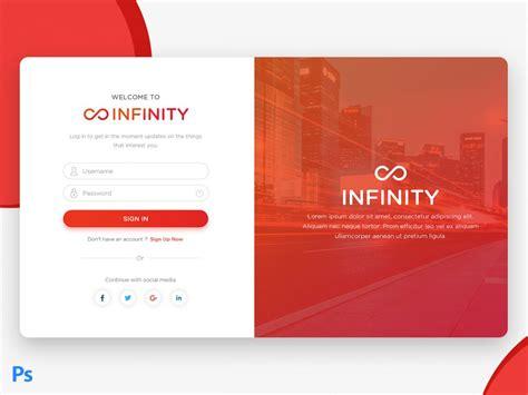 free material design login page ui creative sofa