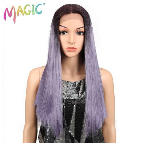 Magic Hair 20inch Synthetic Straight Hair Lace Front Wig