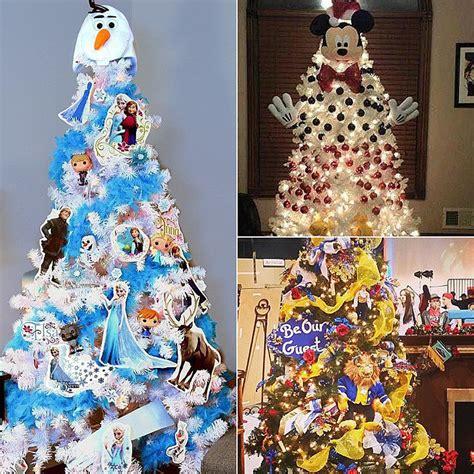 disney tree ideas popsugar - Disney Christmas Tree Ideas