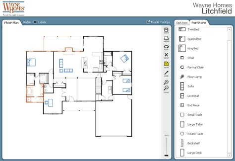 design   floor plan  interactive planner house