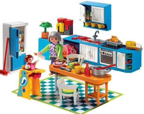 playmobil cuisine 5329 playmobil 5329 kitchen κουζινα playmobil epi 00993