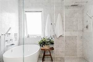 Oval, Bathtub, In, Glass, Walk, In, Shower