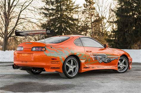 "1993 Toyota Supra From ""the Fast And The Furious"" Heads To"