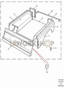 Rear Body Lower - With Bulkhead - 90