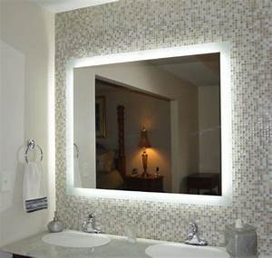 Miroirs Design Contemporain : o trouver le meilleur miroir de salle de bain avec clairage ~ Teatrodelosmanantiales.com Idées de Décoration