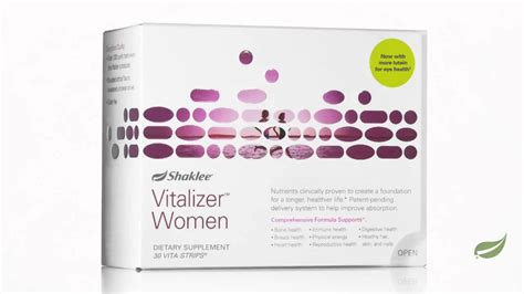 Vitalizer™, from Shaklee - YouTube