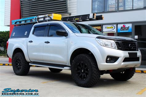 nissan np navara dual cab grey superior customer vehicles