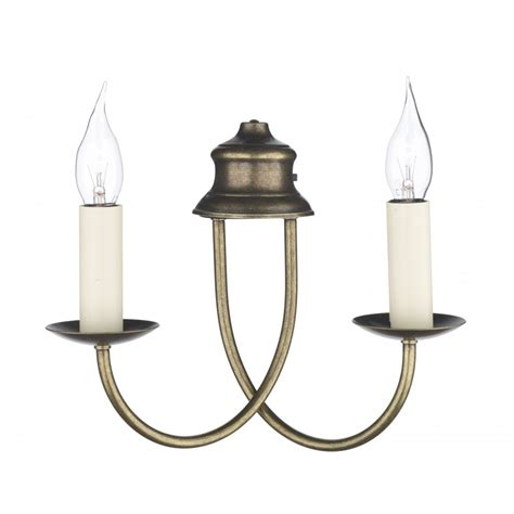 bermuda wall light simple elegant twin candle style light