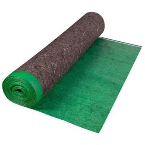 home depot flooring underlay roberts 360 sq ft felt cushion underlayment roll 70 193 the home depot