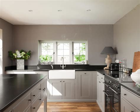grey kitchen cabinets with black countertops black grey white kitchen morespoons 9fae31a18d65 8359