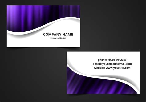 vector visiting card background   vector art