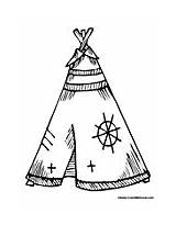 Coloring Teepee Pages Native American Indian Symbols Printable Teepees Colouring Tipi Designs Colormegood Template Patterns Adult Wood Embroidery Burning Colors sketch template