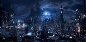 City Full HD Wallpaper and Background | 2652x1304 | ID:726447