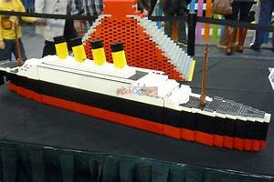 Lego Titanic Sinking In Real Water. 7 Best Images Of LEGO ...
