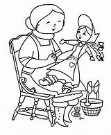 Coloring Toys Pages Christmas Sheet Sheets Doll Ms Claus Donkey Holiday Honkingdonkey Children Alphabet Coloring2print sketch template