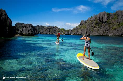 SUP Tours Philippines at Coron