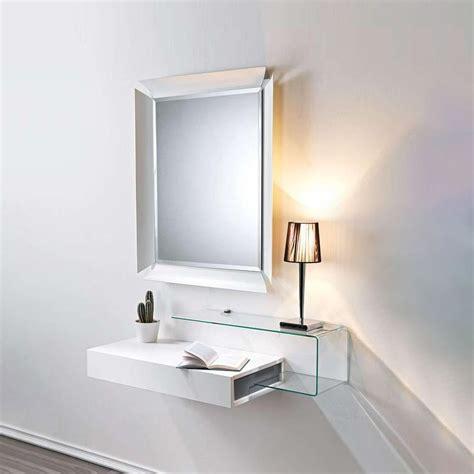 Ingresso S - due v mobile ingresso con vano portaoggetti specchio e