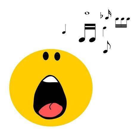 singing emoji choir choir blurb