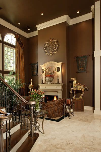 Brown Living Room Wall Colors by Best 25 Fireplace Living Rooms Ideas On