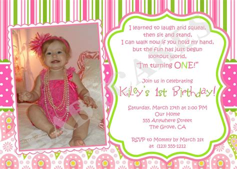 1st birthday party ideas birthday quotes birthday invitation wording ideas for the house