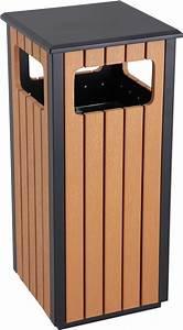 Buy, 36, Litre, Outdoor, Wood, Effect, Waste, Bins