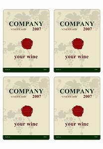 wine label template personilize your own wine labels With free wine label maker