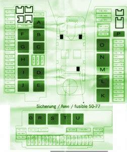 mercedes explanation fuse box year benz   diagram