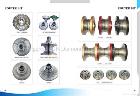 router bits for granite marble china router