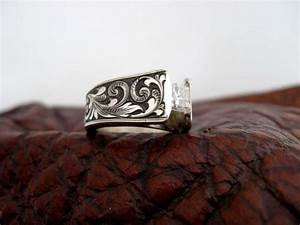 Custom made western wedding rings by travis stringer for Custom western wedding rings