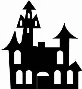 Halloween Kürbis Schablone : airbrush schablone gespensterschloss spukschloss ~ Lizthompson.info Haus und Dekorationen