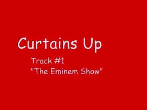 eminem curtains up the eminem show edition youtube