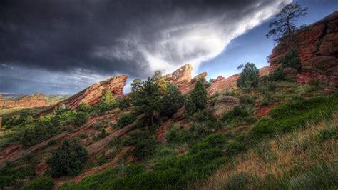 clouds landscapes forest geology natural wallpaper