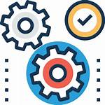 Management Project Icon Process Business Development Icons
